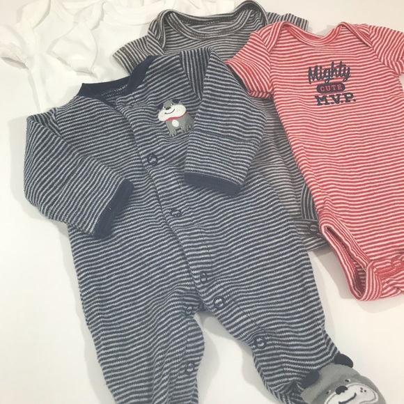 Carter's - Carter's Preemie Baby Boy Lot of 5 from Simple ...